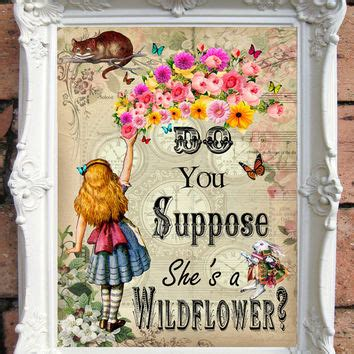 Poster Pajangan Wall Decor Shabby Nonsense best in mad hatter products on wanelo