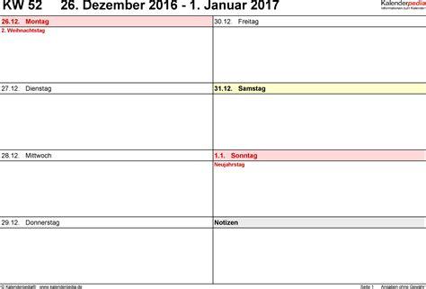 Word Vorlage Tagebuch Wochenkalender 2017 Als Word Vorlagen Zum Ausdrucken
