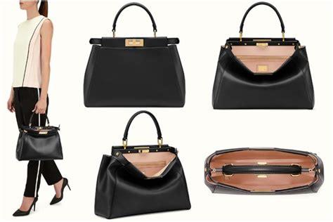 Different Styles Of Interior Design fendi bag versus dotcom bag versus peekaboo bag spotted