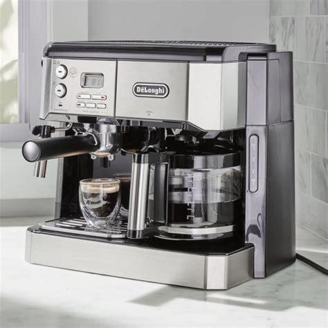 coffee maker and espresso machine delonghi combination coffee espresso machine reviews