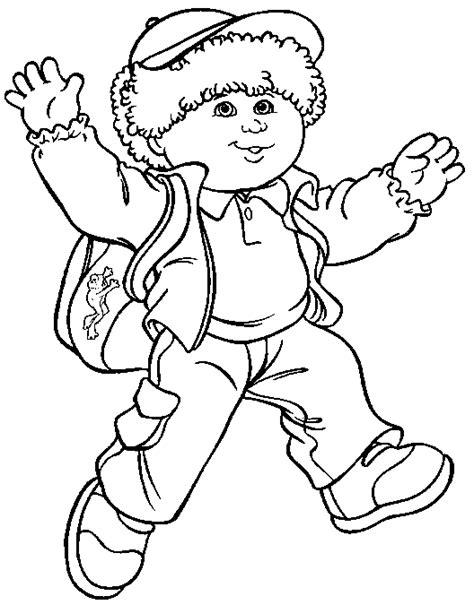 cabbage patch kids coloring pages coloringpagesabc com