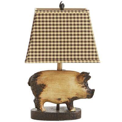 whole hog lighting desk rodney the pig accent l pier 1 imports
