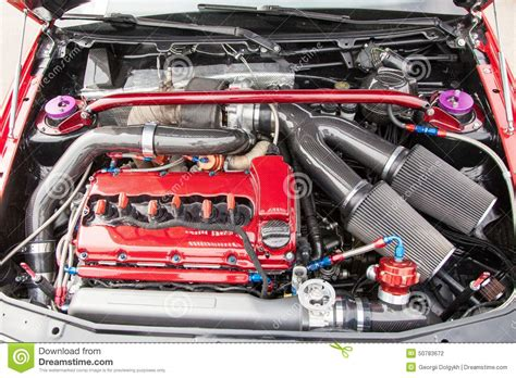 automotive motor supercharged car engine stock photo image 50783672