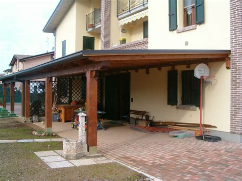 definizione di tettoia tettoia veranda legno