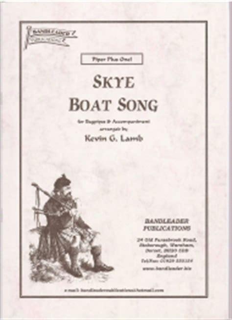 skye boat song descant kevin g lamb skye boat song