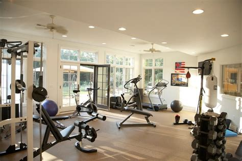 home gyms country estate traditional home detroit