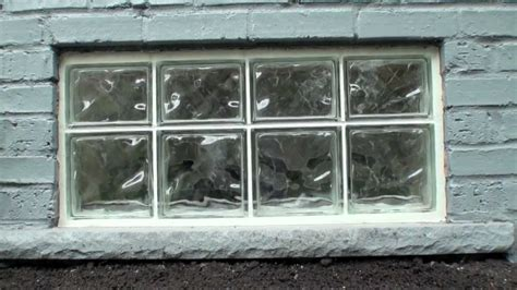 glass block basement windows install attractive glass