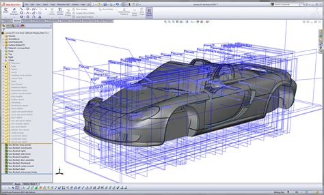Solidworks solidworks doesn t do trains planes and automobiles