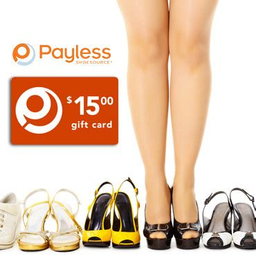 Shoe Gift Cards - 15 payless shoes gift card 7 50 free s h mybargainbuddy com