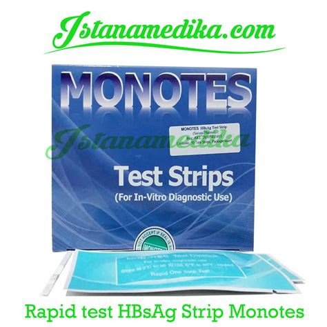 Monotes Hbsag Device B rapid test hbsag monotes istana medika