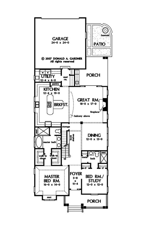bungalow house plan with 2672 square feet and 4 bedrooms craftsman style house plan 4 beds 4 baths 2672 sq ft