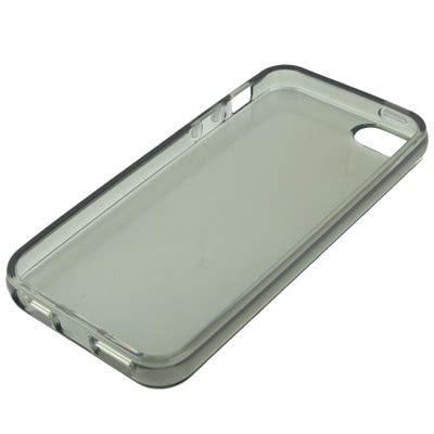 Casing Transparan Iphone 5 Dan 5 S transparent tpu for iphone 5 5s gray