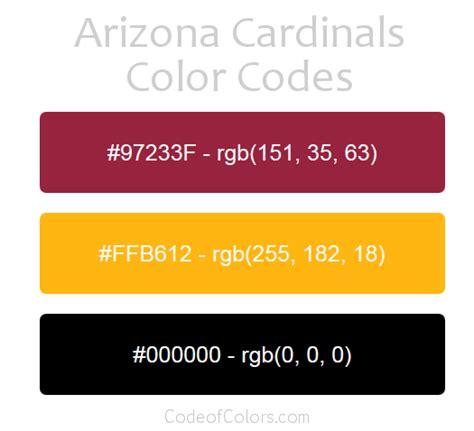 arizona colors arizona cardinals colors hex and rgb color codes