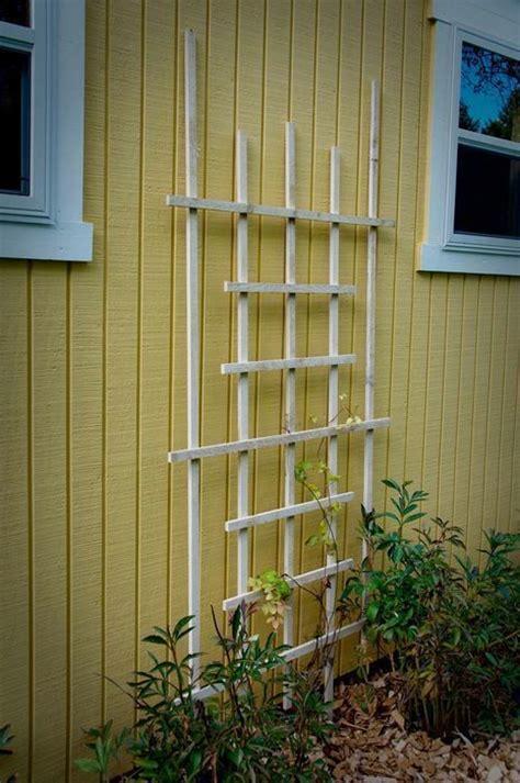 build a garden trellis make a garden trellis