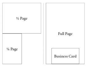 Half Page Ad Template by Advertising In Our Recital Program Ddc
