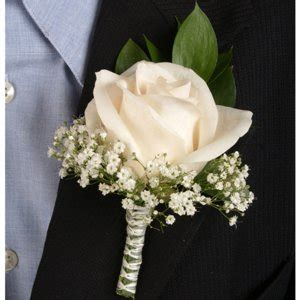 Design Your Own Home Nebraska by Classic Rose Ivory Boutonniere And Corsage Wedding Package