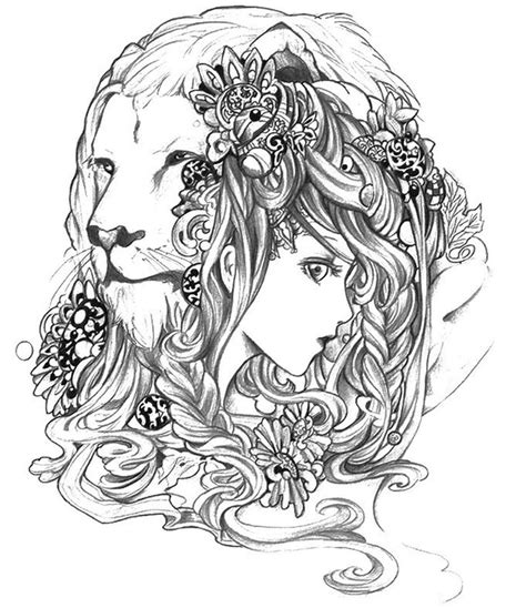abstract lion coloring pages 316 best animal coloring pages images on pinterest