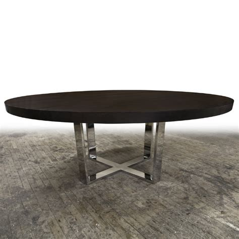 Dining Table Metal Base Hudson Furniture Dining Tables X Metal Base