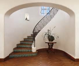 Pictures Stairs by Spanish Colonial Mediterranean Staircase Santa