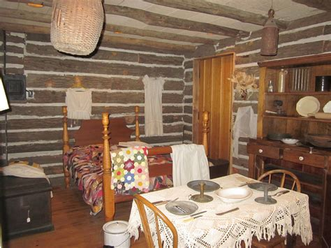 interior of log homes log cabin