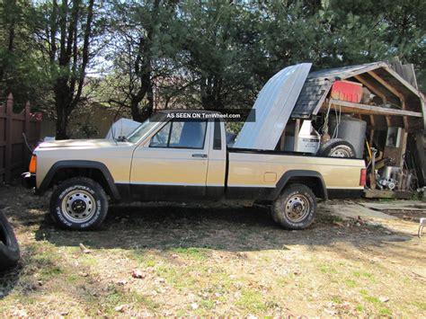 renault jeep 1986 jeep comanche x standard cab pickup 2 door 2 1l