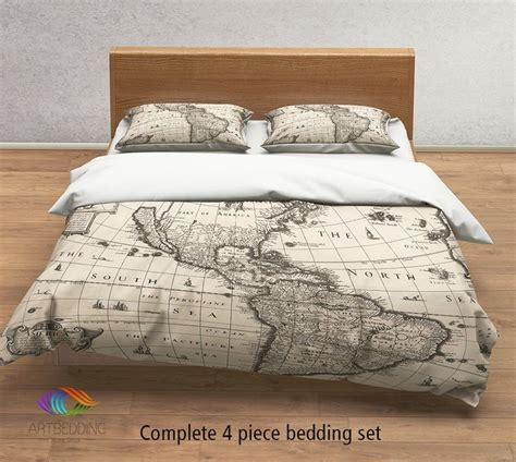 Map Comforter Set by 25 Best Ideas About Bed On Beds