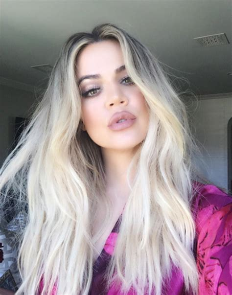 khloe kardashian dyes hair blonde photos style news get a platinum blonde hair color dye to look seductive
