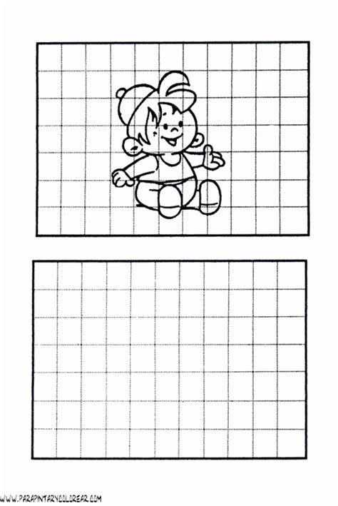 imagenes para dibujar en cuadricula dibujos en cuadriculas para pintar imagui