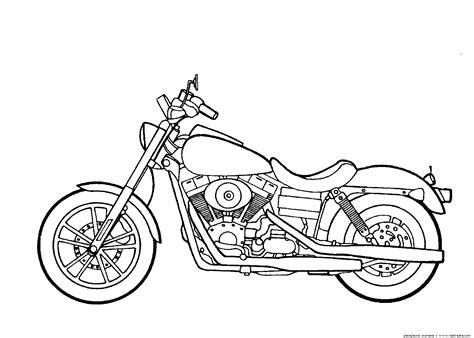 Motorcycles Harley Davidson Dyna Super Glide Motorcycles Coloring Pages Pinterest Harley Motorcycle Coloring Pages