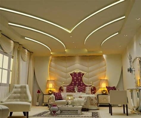 Residential Lighting Design 20 modern false ceiling designs made of gypsum board