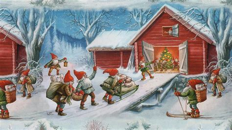 images of christmas paintings christmas painting wallpapers