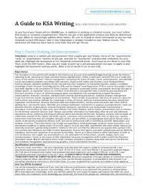 resume ksa examples 1 - Ksa Resume Examples