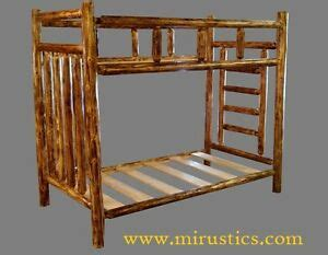 assembling log furniture northwoods twintwin log bunk bed cedar rustic log bunk bed mackinaw series easy assembly