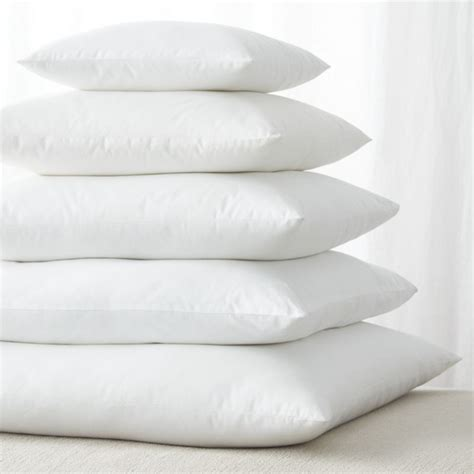 How To Make Pillow Inserts by Alternative Square Pillow Inserts Crate And Barrel