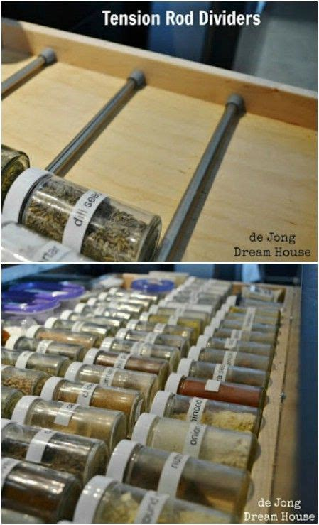 Tension Drawer Dividers by Best 25 Tension Rods Ideas On Tension Rods