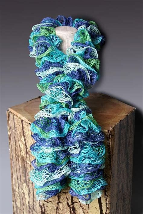 how to knit with sashay yarn for beginners pdf pattern file crocheted ruffle scarf pattern scarf