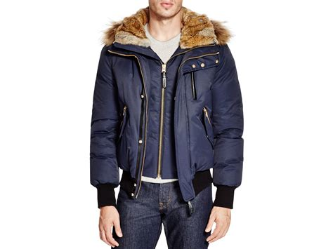 Jaket Parka Vans 2 In 1 Gold Navy Fashion Pria mackage dixon puffer jacket in blue for lyst