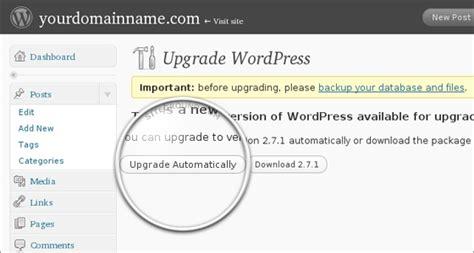 Tutorial Update Wordpress | how to update wordpress from admin panel