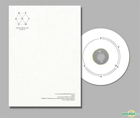 download mp3 exo lucky korean version yesasia exo vol 3 ex act korean version lucky one