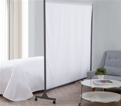 Grey Room Divider Don T Look At Me Privacy Room Divider Gray