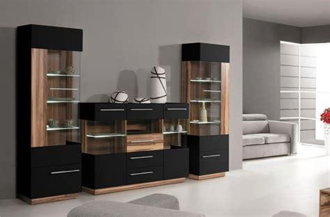 les de salon design vaisselier deux portes black meubles de salon design pas cher