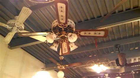 hunter greenwich ceiling fan reece zach and dane visit the fanimation fan museum