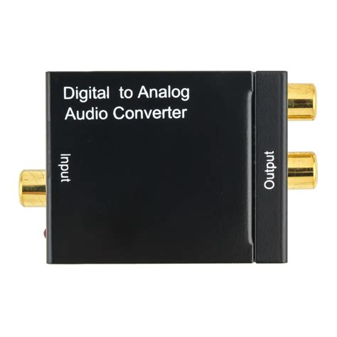 Murah Analog To Digital Audio Converter digital optical toslink coax to analog l r rca audio converter adapter cable lo