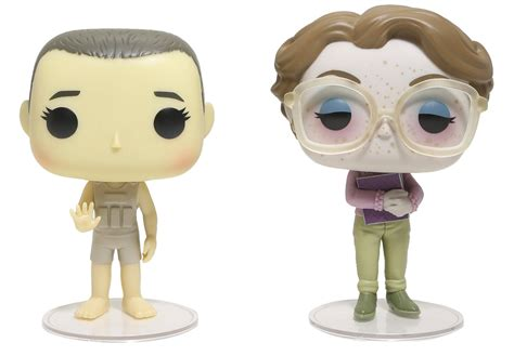 Funko Pop Things Eleven Barb Eccc Exclusive things eleven and barb vinyl pop figures convention exclusive by