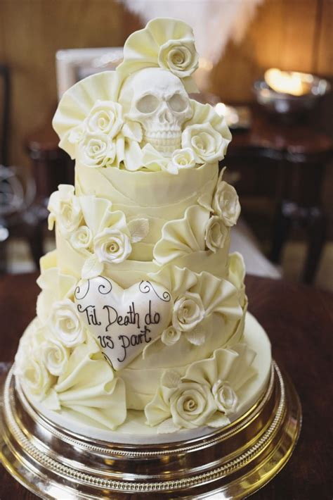 skulls and scotland themed wedding rosie colin 183 rock n roll