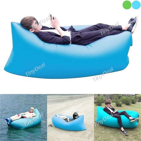 airbag under couch fast inflatable lounger air sleep cing sofa beach