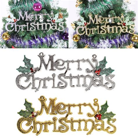 merry tree decoration merry words ornament pendant wall door tree
