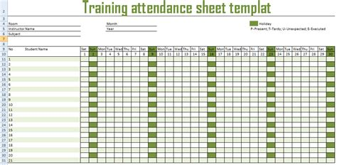 related keywords suggestions for 2015 attendance sheets
