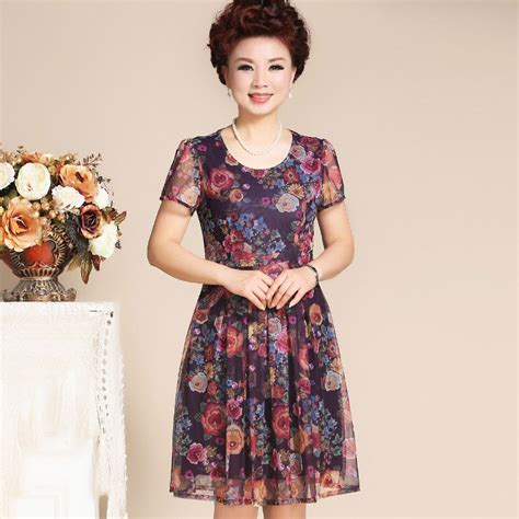 middle age trendy clothing chiffon dresses middle aged women bridal dresses for older