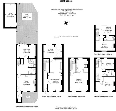 georgian house floor plans uk 4 bedroom end of terrace house for sale in west square